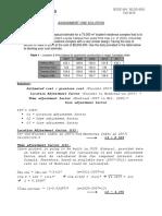 BCEE464 BLDG6851 Assignment 1(Solution)