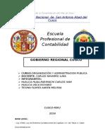 Gobierno Regional Cusco Wd