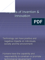 Impacts of Invention and Innovation