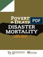 CRED Informe sobre desastres naturales