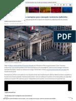 Perú Entre Los Países Más Corruptos Para Conseguir Sentencias Judiciales