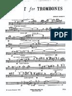 Quartet for Trombones