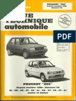 Peugeot 205 Moteurs TU