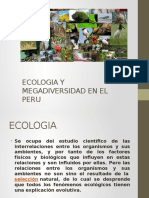 Ecologia y Megadiversidad en El Peru
