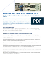 Evaluation de La Duree de Vie Des Stuctures