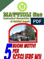 Depliant A5 10ff a 2 Colonne Con Parco Macchine e Riduttori PerIssue
