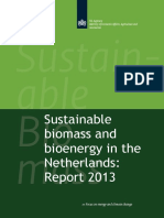Sustainable Biomass and Bioenergy in the Netherlands - Report 2013