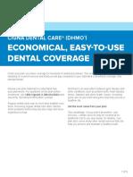 Cigna Dental Care Economical Easy to Use Dental Coverage