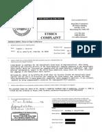 Ethics Complaint filed against Rep. Steve McCarter