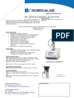 D97 NTE450 Automated Cloud and Pour Point Tester