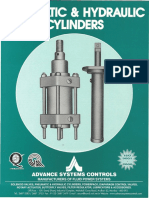 Pneumatic Cylinders & Hydraulic Cylinders Catalogue