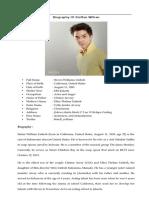 Biography Steffan William