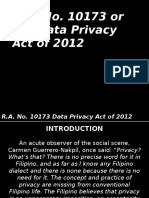 Data Privacy Act - HR
