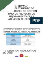Ejemplo indicadores de gestion para una empresa de telefonia (primera parte)