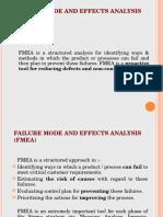 Failure Mode & Effect Analysis - Tool