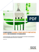 Comparing Global Food Safety Initiative (GFSI) Recognized Standards