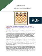 A partida imortal Adolf Anderssen x Lionel Kieseritzky (1851).doc
