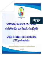 Sistema de Gerencia GpR