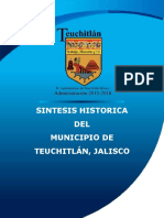 Breve Historia de Teuchitlan, Jalisco