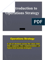 Introduction to Operations Strategy