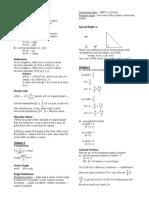 Math Cumulative 2 Review
