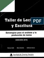 Taller de Lectura y Escritura - Estrategias Para El Analisis y La Produccion de Textos2