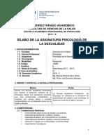 Silabo Ps. Sexualidad 2016 - 2