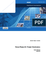 Three-Phase AC Power Electronics Student Manual