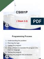 Wk 2-3 Programming Process New