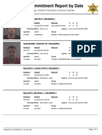 Peoria County Jail Booking Sheet for Oct. 13, 2016