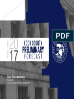 FY 2017 Cook County preliminary budget forecast