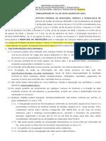 Edital 012 2016 Do Concurso Publico Do Ifs