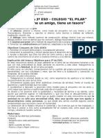 Convivencia 2º ESO - El Pilar Valladolid