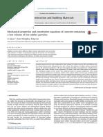 [2] Propiedades Mecanicas y Ecuaciones Constitutivas de Concreto Que Contiene Un Bajo Volumen de Particulas de Neumatico