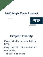 A&D High Tech - Team 2