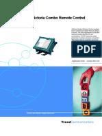 TrendCommunications Victoria Combo remote control