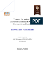 Possibility theory (Théorie des possibilités)