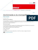 Archimede e Le Mongolfiere