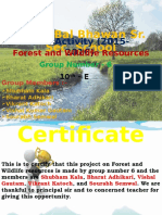 Sst Ppt Forest and Wildlife Resources