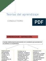 Teorias Del Aprendizaje Clase 1a.pptx Conductismo