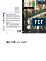 Tim Dant-Materiality and Society (2004)