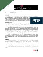 Hendriadi Anugrah [Death Note] (Film Review)