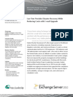 Project Leadership Completes First Midwest Exchange 2010 Deployment for Katten Muchin Rosenman