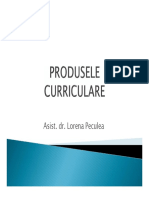 produsele curriculare