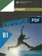 Cambridge English Empower Pre Intermediate B1 Student s Book