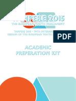 Tampere 2015 Preparation Kit