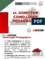 el director como lider pedagógico