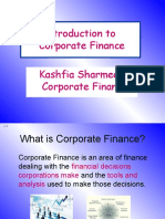 Ch 1-Intro to Corporate Finance