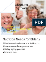Chapter 5 Nutrition Needs for Elderly