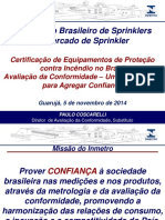 Certificação de Equipamentos de Proteção contra Incêndio no Brasil